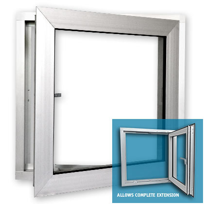 Casement window egress casement windows for Replacement window sizes